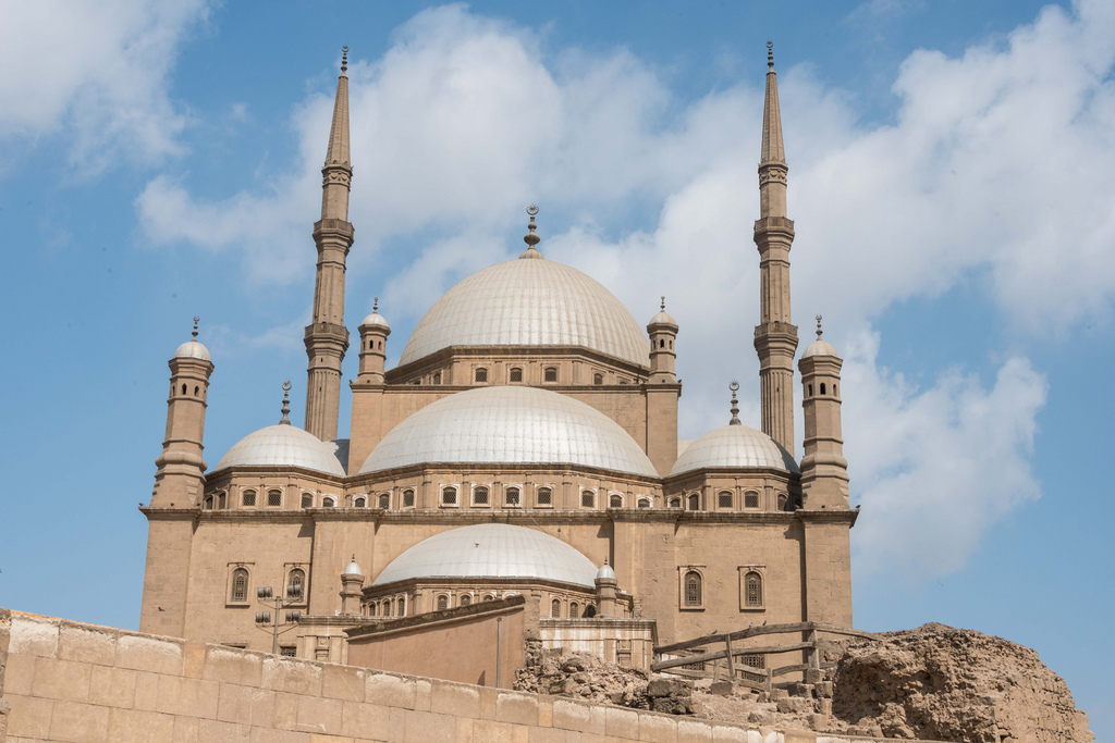 The Mohammed Ali Mosque (also called the Alabaster Mosque) in the Citadel of Cairo.