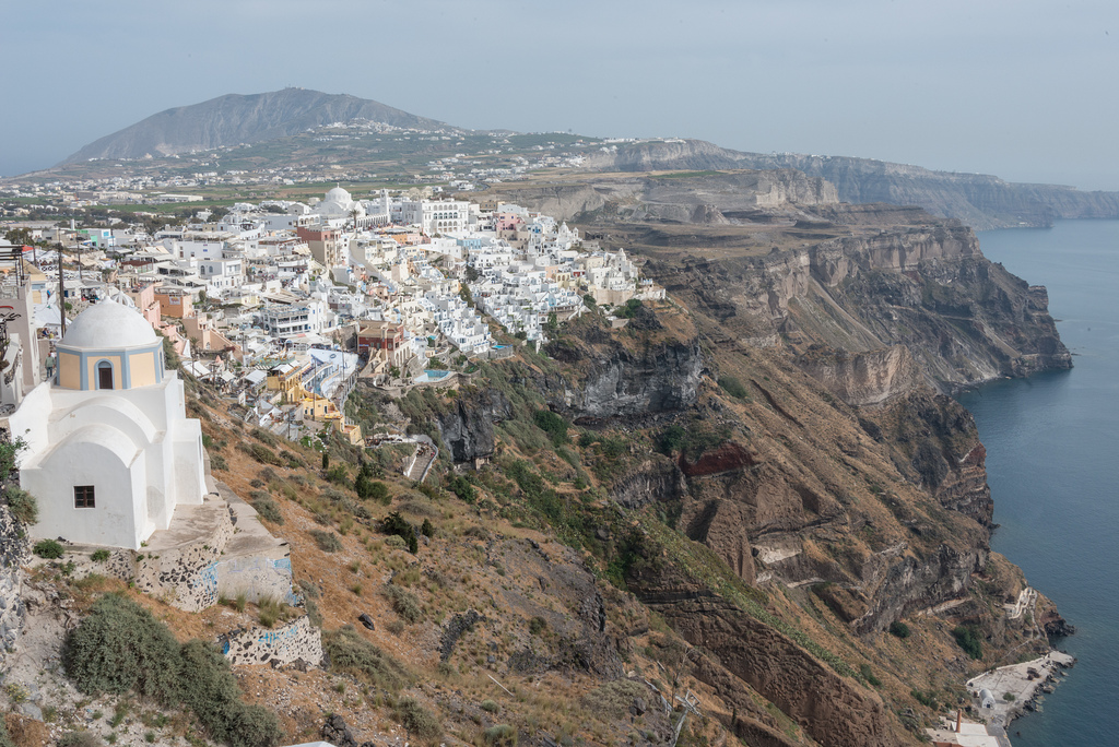 The city of Fira.