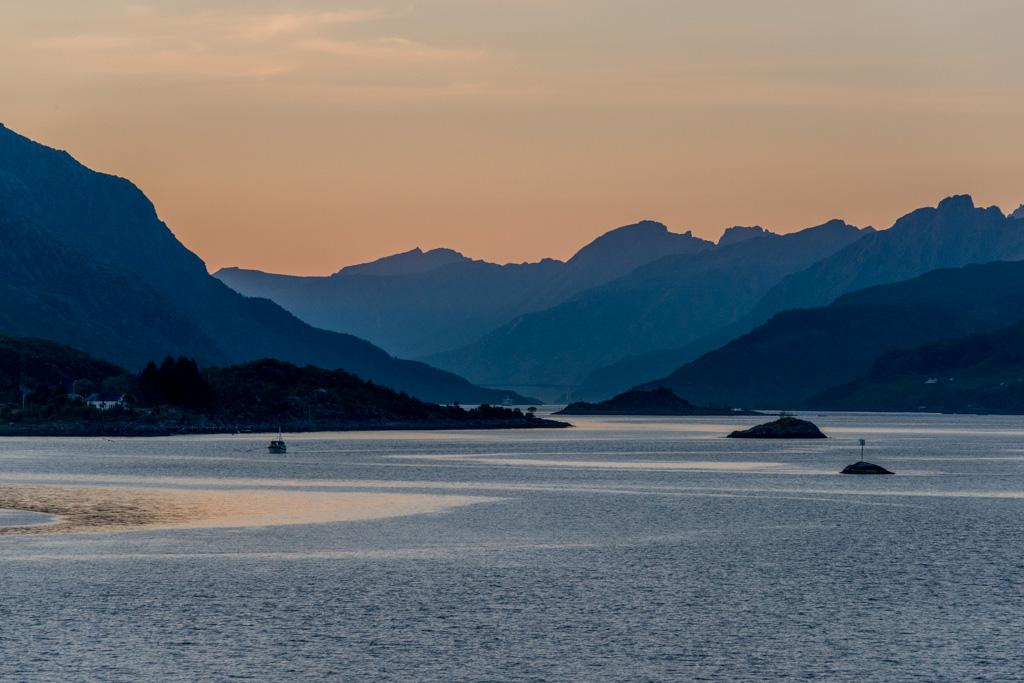 The beautiful Lofoten islands.