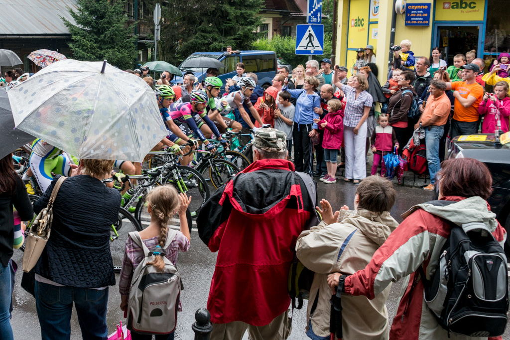 The Tour of Poland bicycle race.