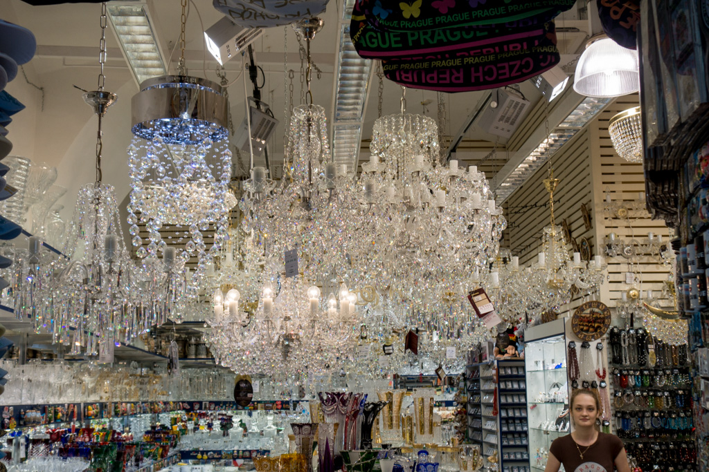 You can never have too many chandeliers.