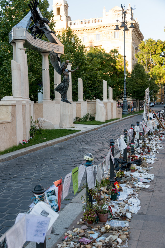 "Budapest's newest monument, commemorating the Nazi ""occupation,"" is the subject of daily protests against the flagrant revisionism."