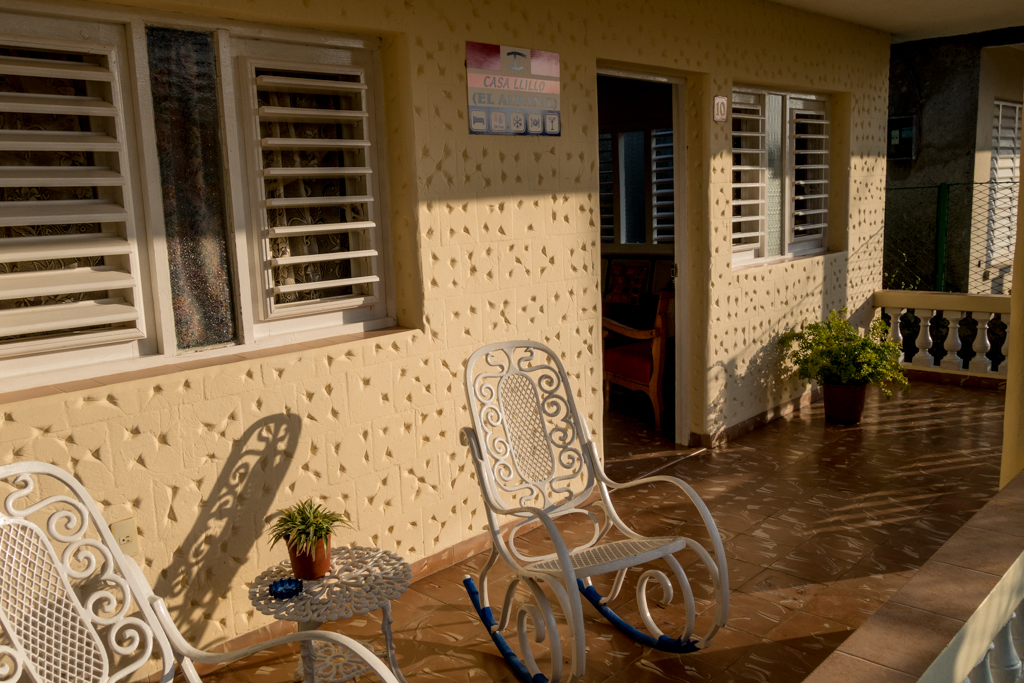 Our home stay house in Viñales.