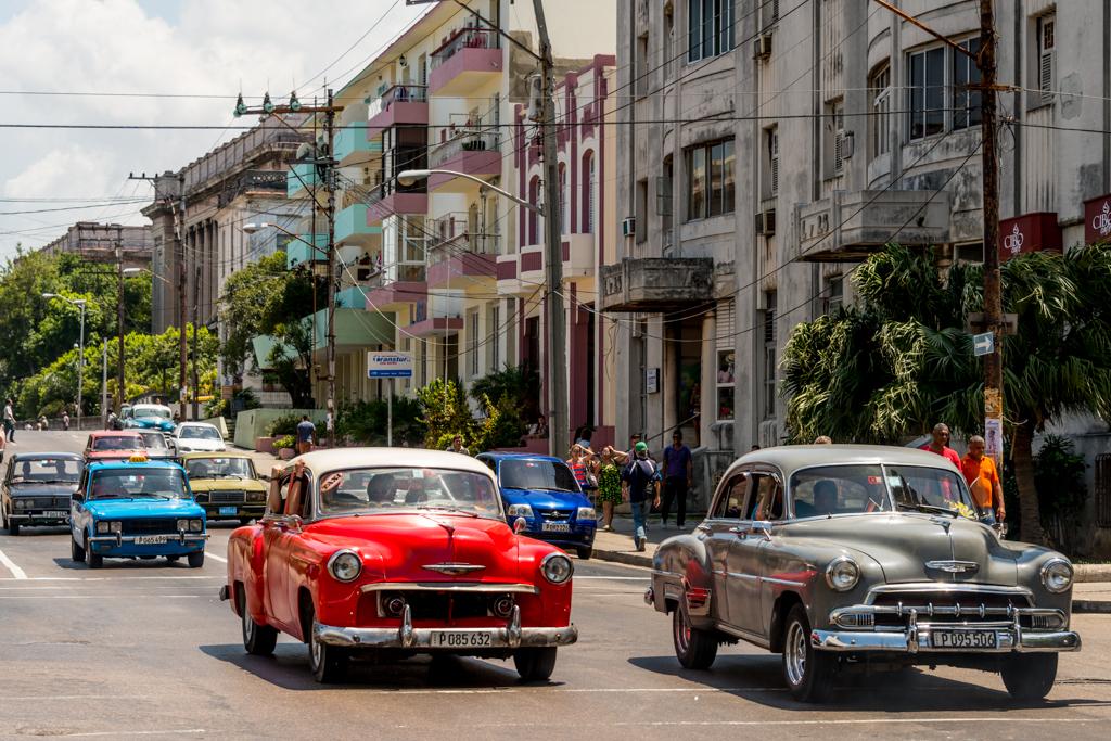 Old timers in Havana.